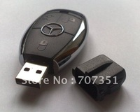 Hot plastic Mercedes Benz usb flash drive 4GB 8GB 16GB 32GB usb 2.0 pen drive