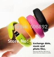 Real memory 2GB 4GB 8GB 16GB or 32GV Hot Bracelet USB flash drives 5pcs/lot drop shipping