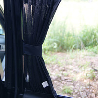 Quality car curtain anti-uv sun-shading curtain fitted car curtain a pair of