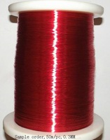 Sample order:0.3MM,50m/pc,Red New Polyurethane Enameled Wire,Copper wire,QA-1-155