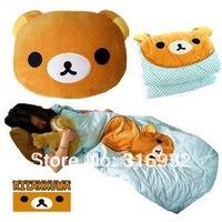 J2 Free shipping San-X Rilakkuma Funny foldable Air Conditioning Blanket, 1pc