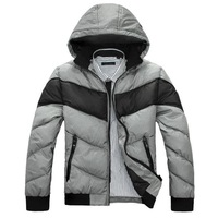 2012 winter male thickening wadded jacket plus size cotton-padded jacket outerwear male autumn and winter casual wadded jacket