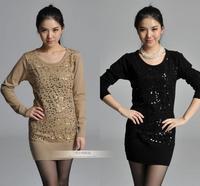 2014 new fashion ladies women's pullover women winter,winter sweater for women,free shipping