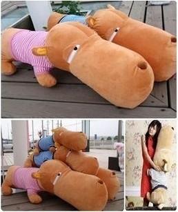Plush toy dog big head dog dog Large doll lovers pillow cushion 1.4 meters(China (Mainland))