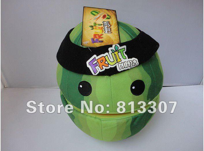 Ninja Watermelon Game Ninja Toy Watermelon Plush