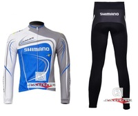 Winter clothes! 2011-4 XMN Winter long sleeve cycling jerseys+pants bike bicycle thermal fleeced wear set+Plush fabric!