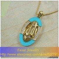HOt Sale!18K Gold Filled Muslim Allah Pendant F1620632 .15