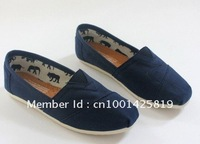 2012 brand new casual fashion men / women canvas falt shoes Gray colour