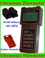 Brand New Ultrasonic Flow Meter Flowmeter DN300-6000mm; -40-160 degree High Temperature Transducer