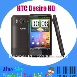 Swiss post free shipping android OS mobile phone HTC G10 Desire HD HD G10 original(China (Mainland))