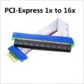 PCI Express PCI-e 1X TO 16X Riser Card Extender Cable,50pcs/lot DHL Free Shipping