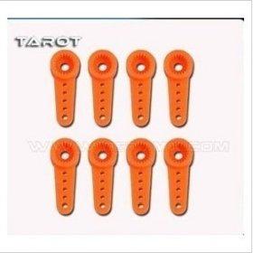 F01567 8pcs 450 DFC Gear Protect Servo Arm Horn TL2257-2 For Tarot Trex 450DFC rc Heli Futaba 3156 410M HD2216 MD933 + Freeship(China (Mainland))