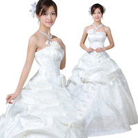 Free shipping 2013 wedding formal dress - - beautiful sweet fairy tale princess bride wedding dress formal dress 1203