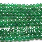 FreeShipping!!!  wholesale  50 strands /lot    Natural crystal  Green  agate  DIY   beads   & 8mm (50 beads)