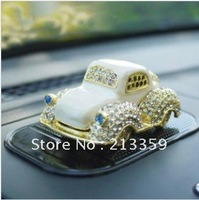 Free Shipping for car perfume seat fashion cars car perfume auto supplies exhaust pipe perfume bottle metal with diamond newest