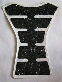 Free Shipping Motorcycle Carbon Fiber Sport Tank Pad Protect Fishbone