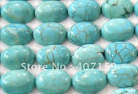6x8mm Oval Turquoise CAB Cabochon Jewelry Charms Beads for Rings Pendant Bracelet Earrings Wholesale Free Shipping