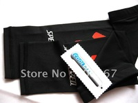 Black Cycling Bike Bicycling Riding leg Sleeve Warmer S M L XL, ship L size in default, SPEC
