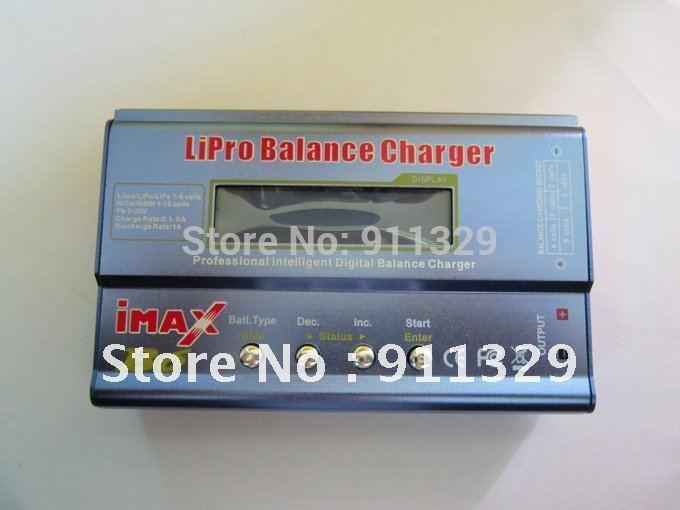 Best selling!! IMAX B6 Digital RC Lipo NiMh Battery Balance Charger+AC POWER 12v 5A Adapter Free shipping,6 pcs/set,1 pcs(China (Mainland))