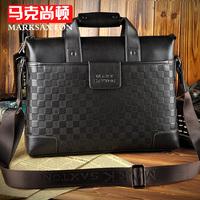 Handbag male business bag 12 mmobile briefcase cowhide man bag