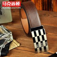 2013 male cowhide belt business casual strap male fm003