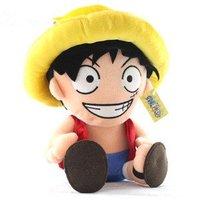 Classic plush toy cartoon one piece Monkey D Luffy