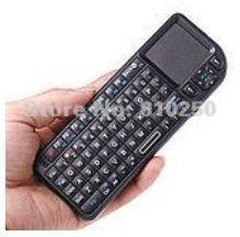 Free shipping World's most Mini 2.4GHz 2.4G Wireless Rii Mini PC Keyboard