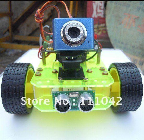 Arduino робот своими руками c пультом wi-fi 36