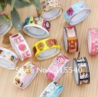 Free Shipping(100pcs/lot), Cute Rilakkumka DIY colorful  tape, Small size sticker tape, Decorative tape, NT026