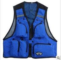 Free shipping.fish jacket,fishing vest.Photography vest.nice quality,cheap.tools jacket