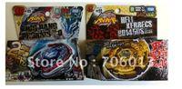 100% Tomy Beyblade Metal BB99 Hell Kerbecs BB105 Big Bang Pegasis Christmas Gifts for Kids 2pcs/lot 4 models for option