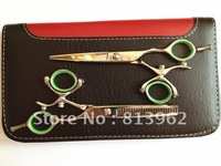 Newest Rotating handle Design Beauty salon products CNC Screw Hair scissors thinning scissors