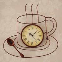 Furnishings watch iron brief rustic quartz clock home wall clock wall clock wall decoration clock