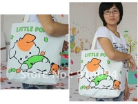 The new winter upset edition cute cartoon animals recreational canvas female bag wholesale sales hot