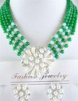 New Hot Fashion Woman's Jewelery Stunning green jade jewelry pendant / necklace Earrings free shipping