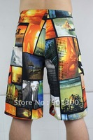 Men's surf board shorts surfshorts boardshorts Fashion short trousers Tied rope 1 Piece/Min.order