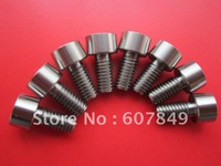 titanium GR5 screws(buttom head and cap head and flat head)