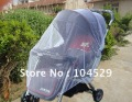 Baby stroller mosquito net plus size broadened encryption thickening baby stroller car umbrella  1.5*1.2M  free shipping