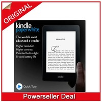 "Amazon Kindle Paperwhite, Wi-Fi, 6"" E Ink Display - includes Special Offers & Sponsored Screensavers"