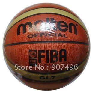 Best selling!!! Size7 Molten GL7 basketball hight quality PU basketball free shipping with gift Free shipping 1pcs