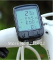 2set/lot Wireless LCD Cycle Computer Odometer Speedometer Bike Bicycle Meter Speed Counter free shipping