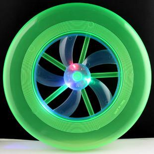 12pcs/lot NEW!!!Frisbee,UFO lantern,Flashing Frisbee,Built in electronic,toy,Flying Disk,free shipping(China (Mainland))