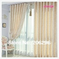 hot & fashion,promotion, Pleated curtain,finished curtain, 2 colors ,fast delivery,free shipping by China Post Air Mail