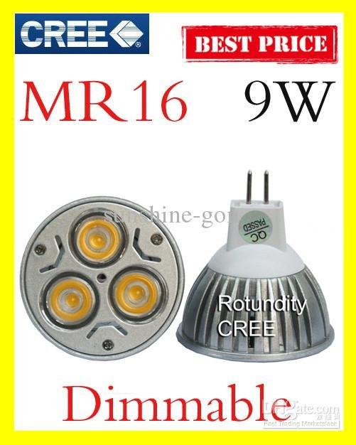 10X-Dimmable-MR16-9W-3x3W-CREE-High-power-LED-Spot-Light-Bulb