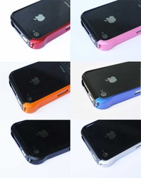 100 pcs Aluminum Element Case Vapor Aluminum Bumper Frame for iphone4 4s+DHL Free shipping(China (Mainland))