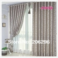 hot & fashion,for bedroom & balcony,Pleated curtain,finished curtain,silver,fast delivery,free shipping by China Post