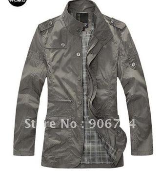 Free Shipping New Men's Jacket,Men's Casual Jackets,Men's Fashion Jackets Color:5 Colors Size:M-L-XL-XXL