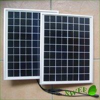 Brand New ( 20W/lot) 10W Solar Panel/ Monocrystal Solar Panel for Solar Power System/Solar Lighting System/High Quality