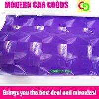 Wholesale 152cm x 30m purple cat eyes vinyl film car vinyl car wrap practicable car stickers with air channels