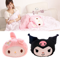My melody little demon of kuromi high quality 100% cotton 100% cotton air conditioning cushion is pillow dual